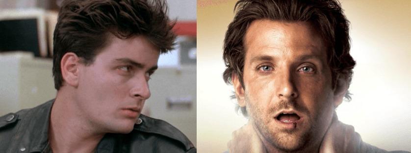 Charlie Sheen - Bradley Cooper - Ferris Bueller - FilmFad.com