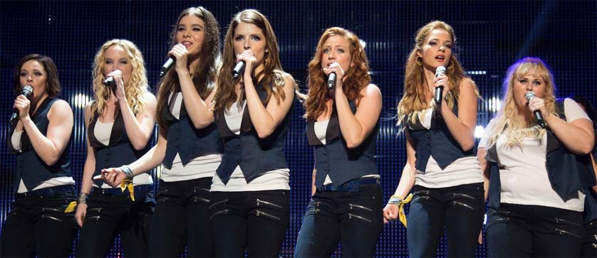 Pitch Perfect 2 Stage Performance