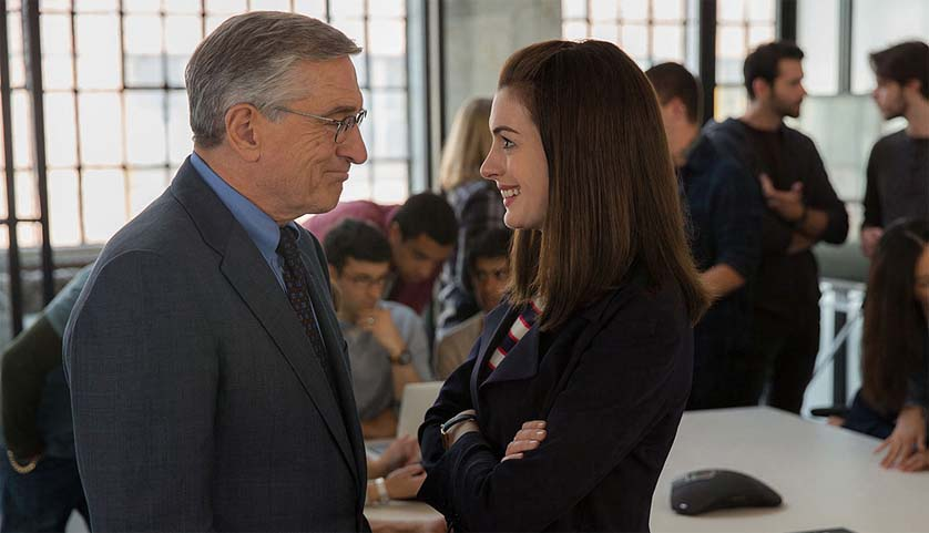 Robert De Niro Anne Hathaway The Intern