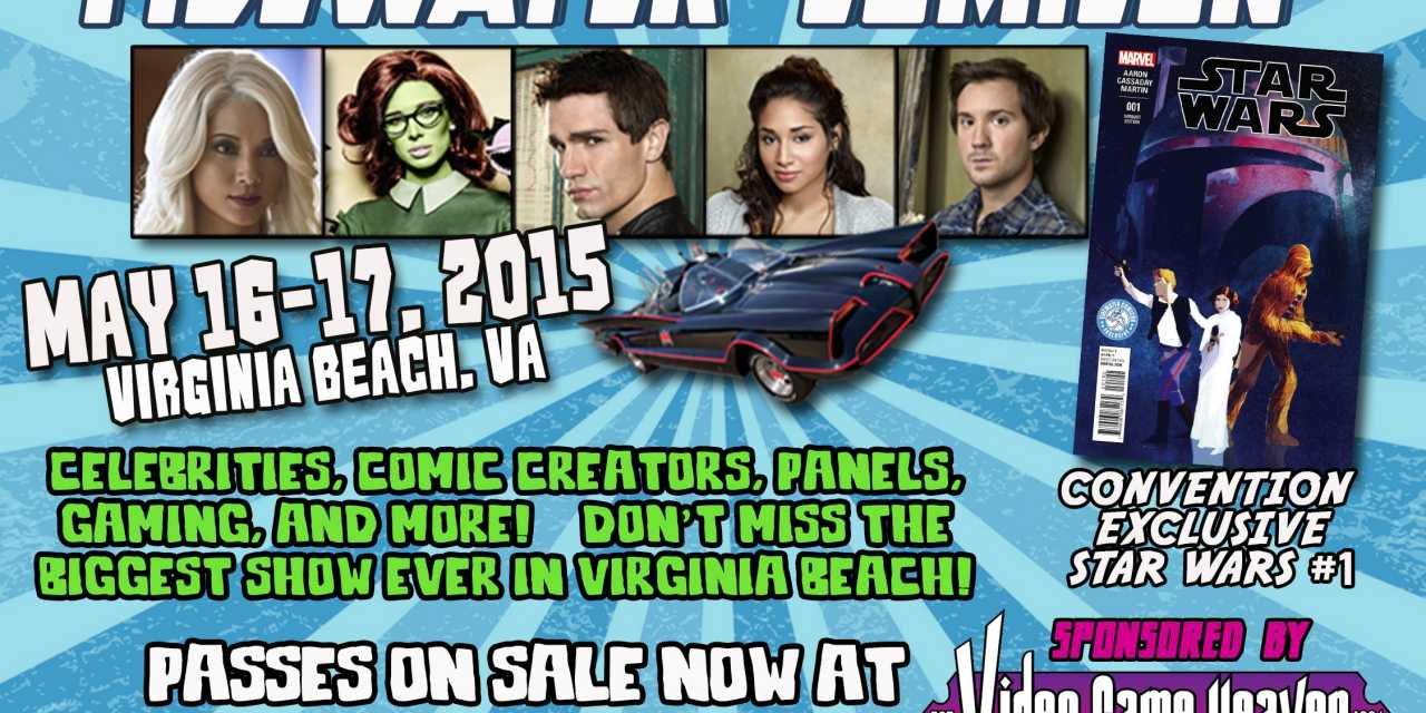 Watch out East Coast, here comes Tidewater Comicon!