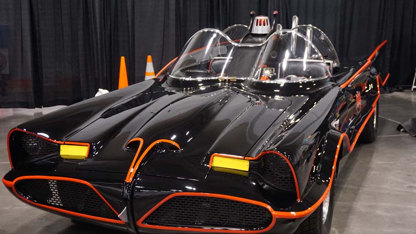 Tidewater Comicon Batmobile
