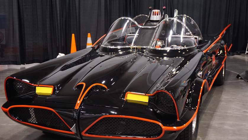Tidewater Comicon Batmobile