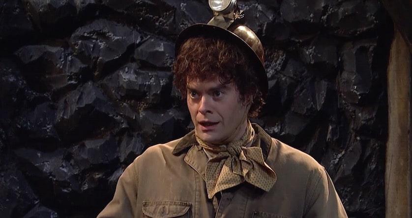 Bill Hader - SNL's Gossipy Coal Miner - FilmFad.com