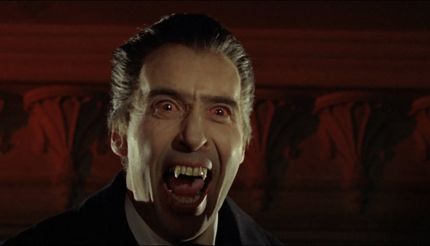 Christopher Lee - Dracula - FilmFad.com