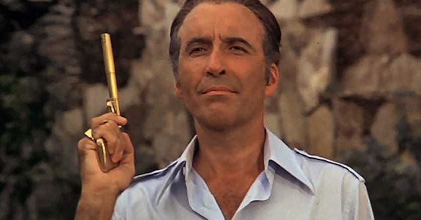 Christopher Lee - James Bond 2 - FilmFad.com