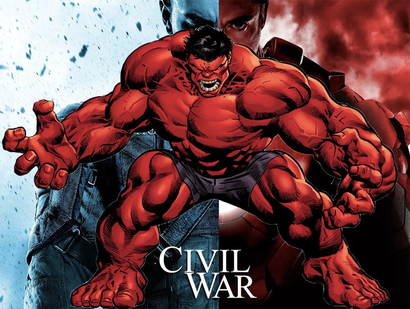 Red Hulk Civil War