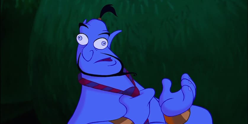 Aladdin - Disney - Genie - FIlmFad.com
