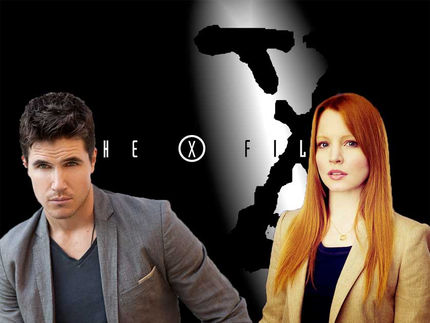 Robbie-Amell-Lauren-Ambrose-X-Files