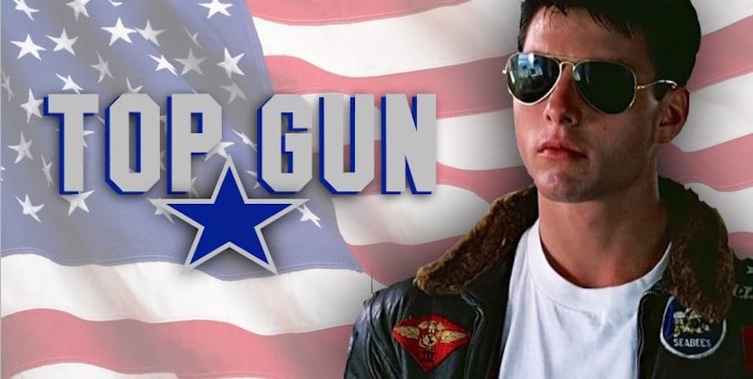 Tom Cruise - Top Gun - FilmFad.com