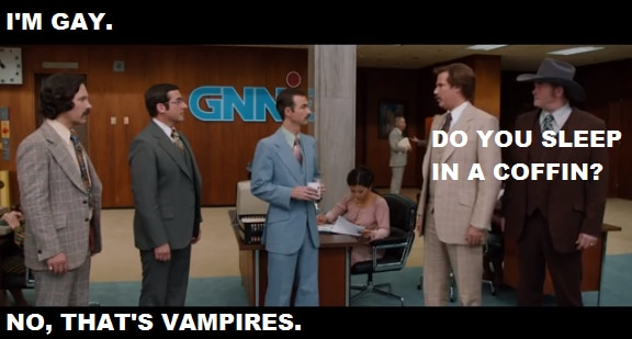 Anchorman 2 - Quote - Vampires - FilmFad.com