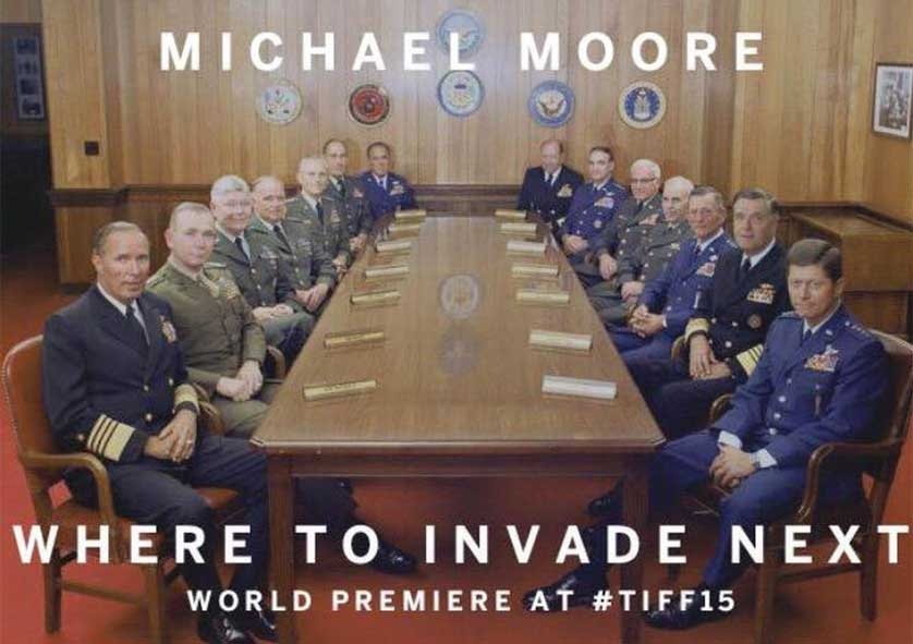 Michael Moore Debuts Trailer for Next Documentary
