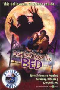 Dont look under the bed - disney - filmfad.com