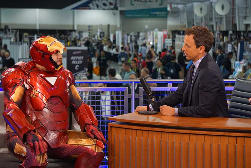 Seth-Meyers-New-York-Comic-Con-Iron-Man