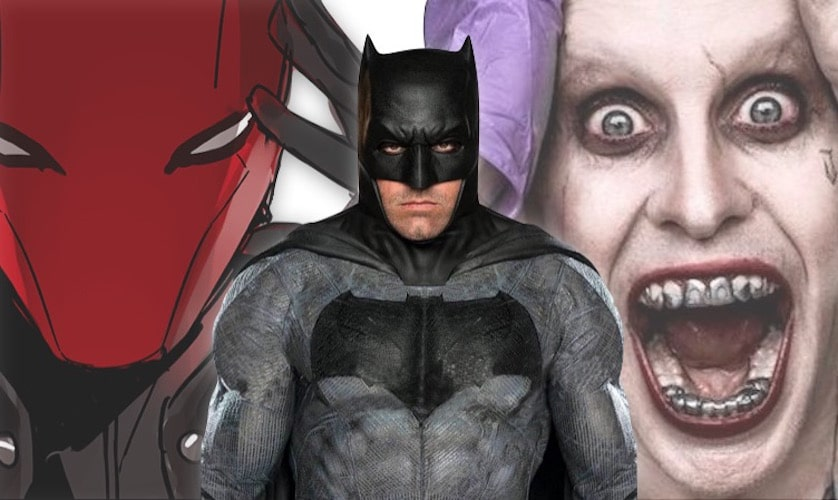 Ben Affleck - Batman - Joker - Red Hood - FilmFad.com