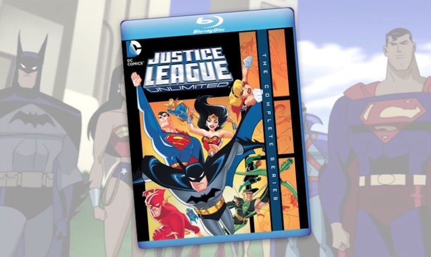 Justice League Unlimited - BluRay - The Complete Series - FilmFad.com