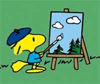 Peanuts-Woodstock