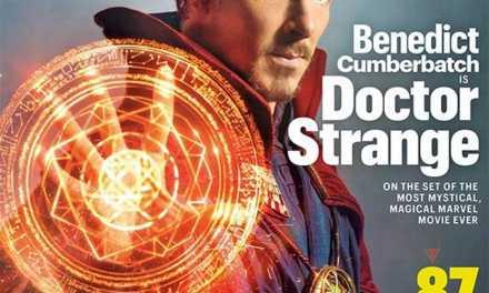 Benedict Cumberbatch in Full Doctor Strange Attire Revealed