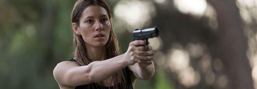 Jessica Biel - Bleeding Heart - Gun - FilmFad.com