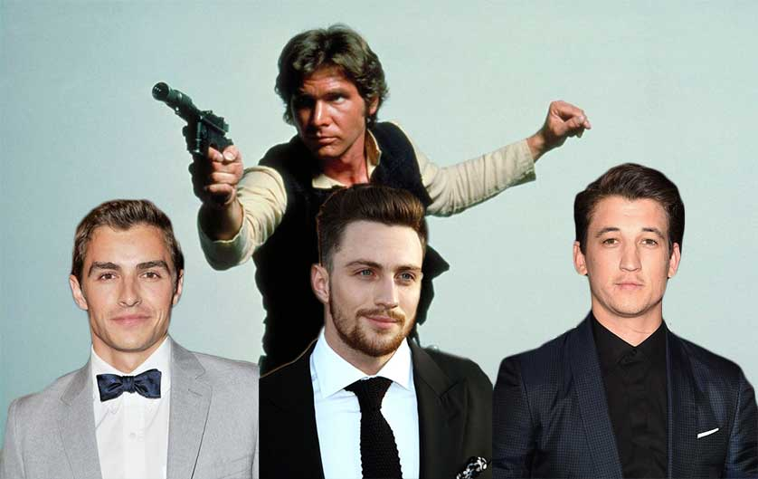 Actors Line Up to Play Han Solo in the 'Star Wars' Spinoff