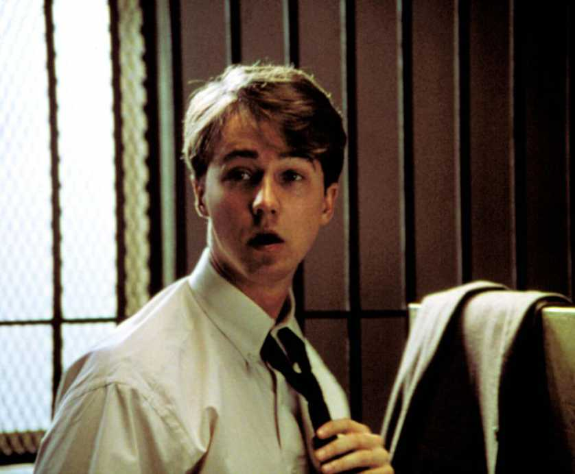 Edward Norton as Aaron & Roy