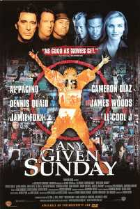 any given sunday bill clinton