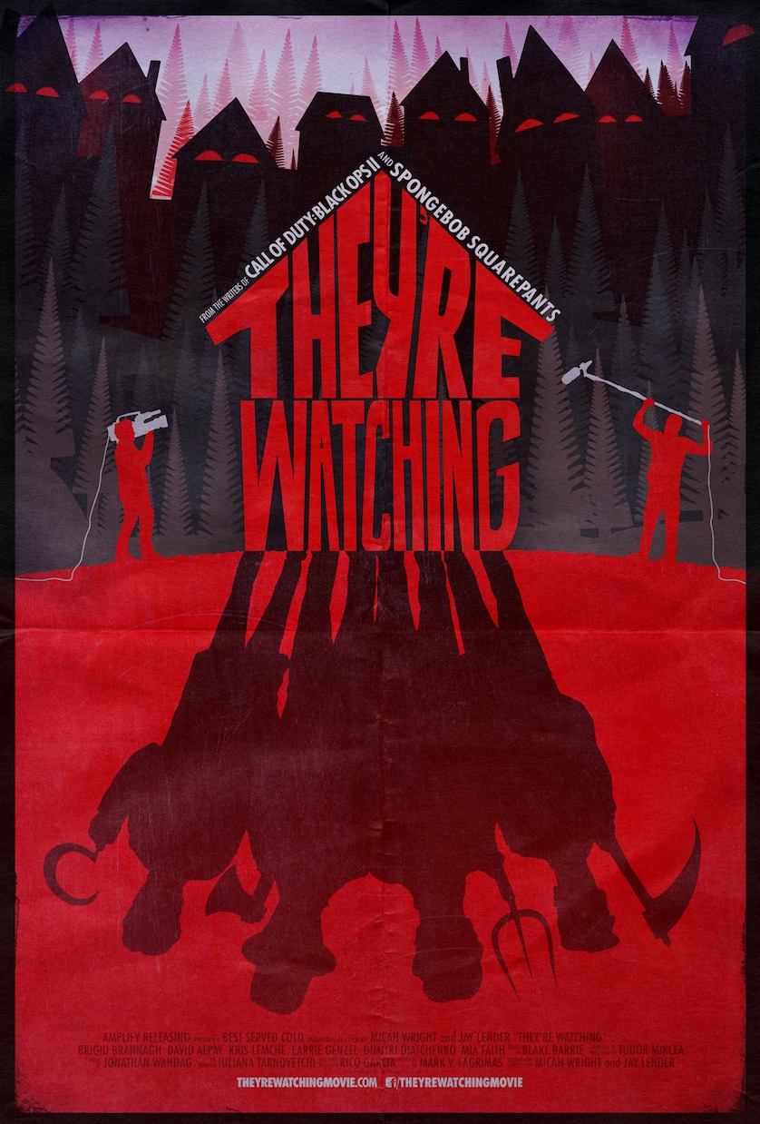 They're-Watching-poster