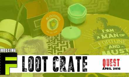 Unboxing: Loot Crate April 2016 Takes Us On a 'Quest'