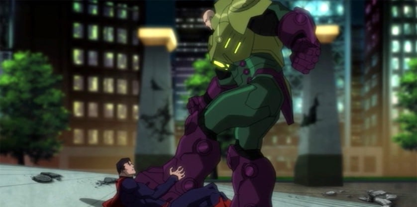 Justice League vs teen titans