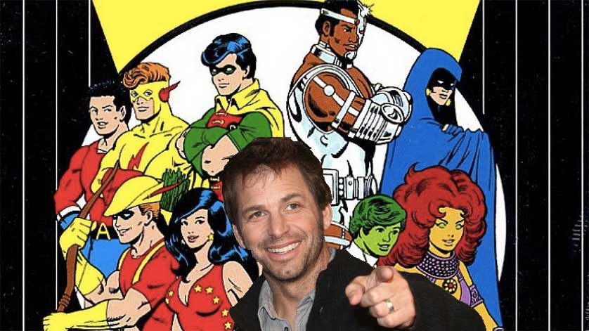 Zack Snyder to Direct 'Teen Titans' Live Action Film