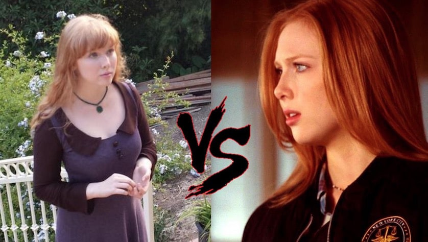 Alexis vs Lillian - welcome to happiness - castle molly quinn