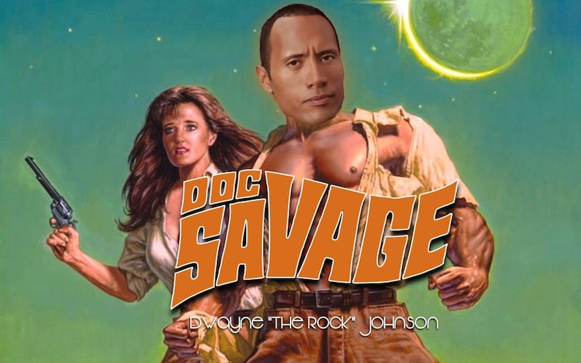 Dwayne 'The Rock' Johnson is Doc Savage