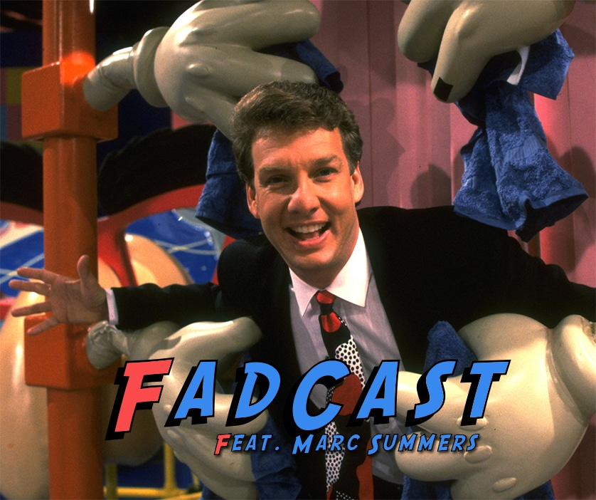FadCast Ep. 90 | Marc Summers Talks TV Game Shows Past and Future