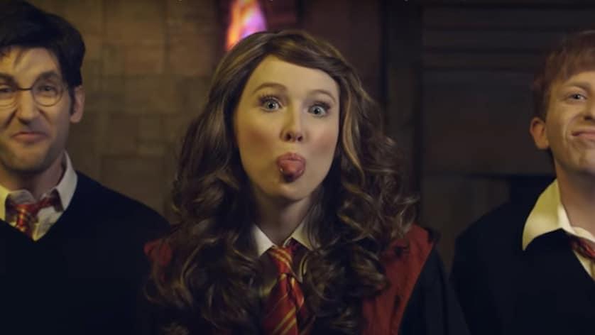 Molly Quinn - Princess Rap Battle - Hermione