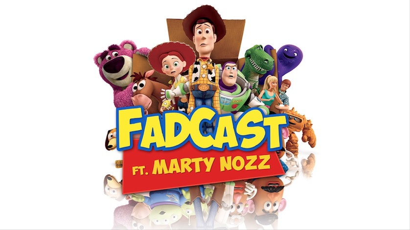 FadCast Ep. 95 | Finding Dory and Pixar Glory ft. Marty Nozz