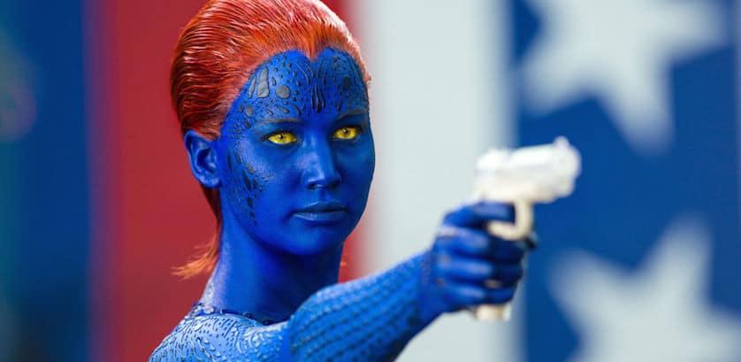 Mystique - Jennifer Lawrence - X-Men - GunMystique - Jennifer Lawrence - X-Men - Gun