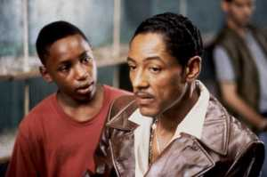Esteban (Giancarlo Esposito) is the best character in the movie.
