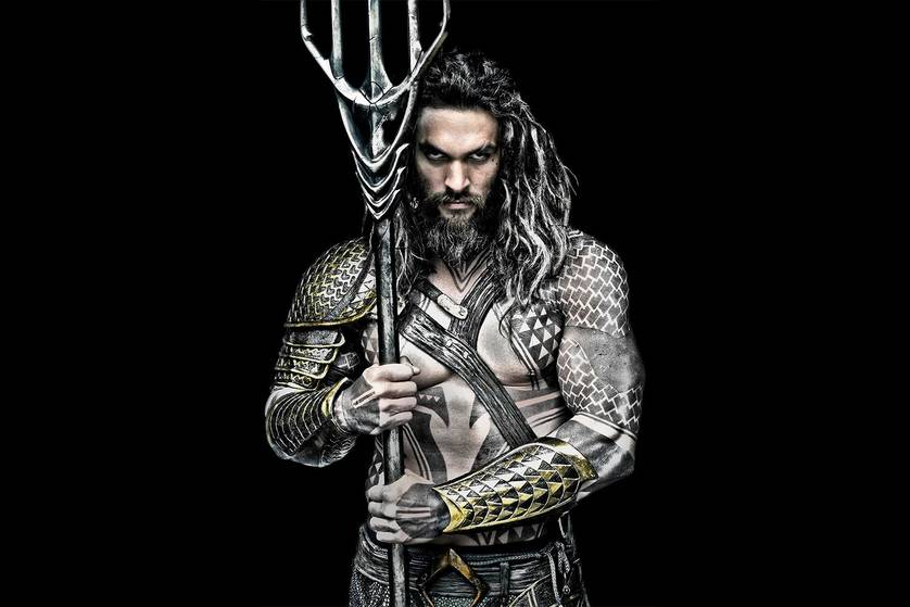 Leaked: Jason Momoa's Aquaman Gets Wet in 'Justice League' Set Photos