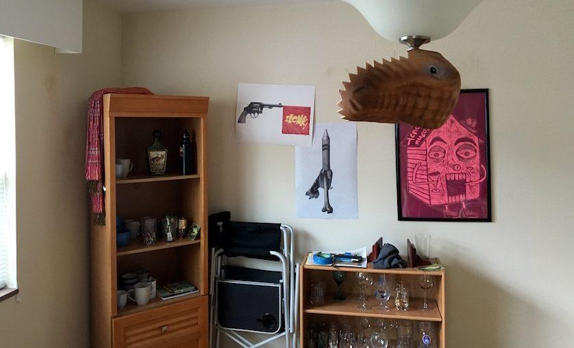 Public Affairs - Art - Dino Hat