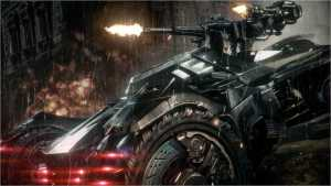 The Batmobile is awesome!