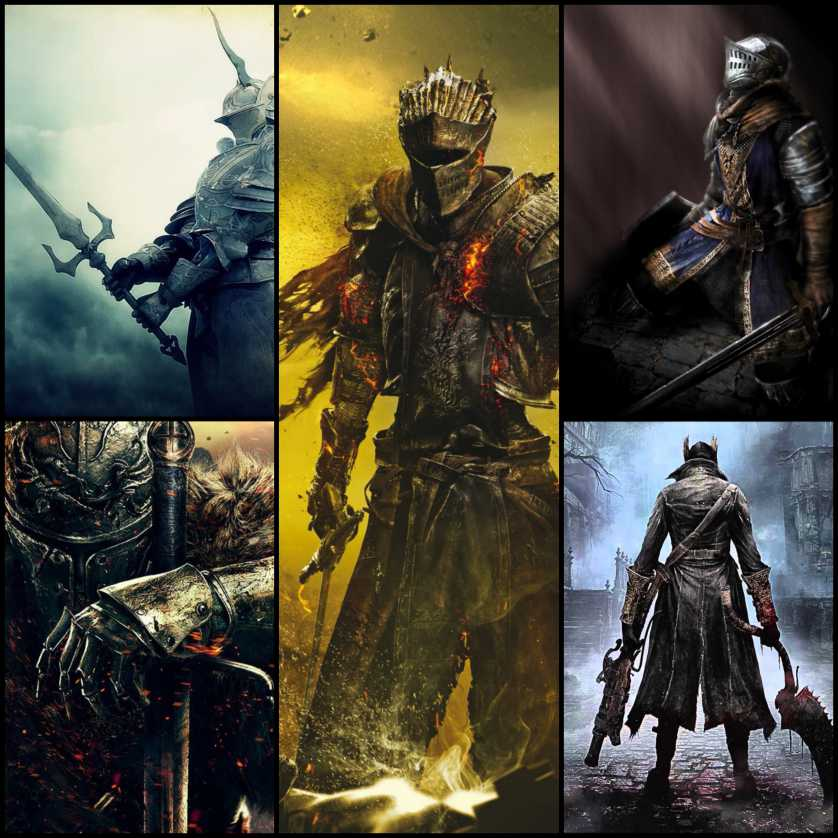 Dark Souls Collage