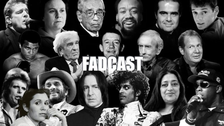 FadCast Ep. 121   R.I.P. 2016: Remembering Carrie Fisher & Other Late Actors ft. Eric