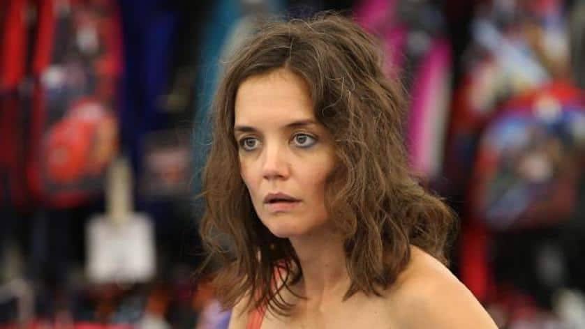 "Katie Holmes in ""All We Had"" (2016)."