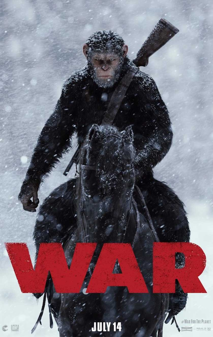 Trailer For 'War For The Planet Of The Apes' Debuts With New Poster