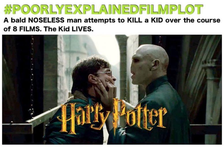 PoorlyExplainedFilmPlot - Harry Potter