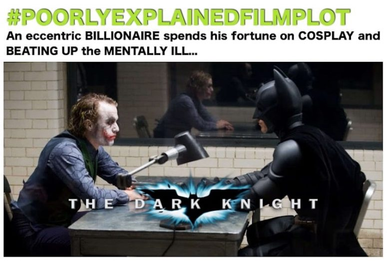 PoorlyExplainedFilmPlot - The Dark Knight
