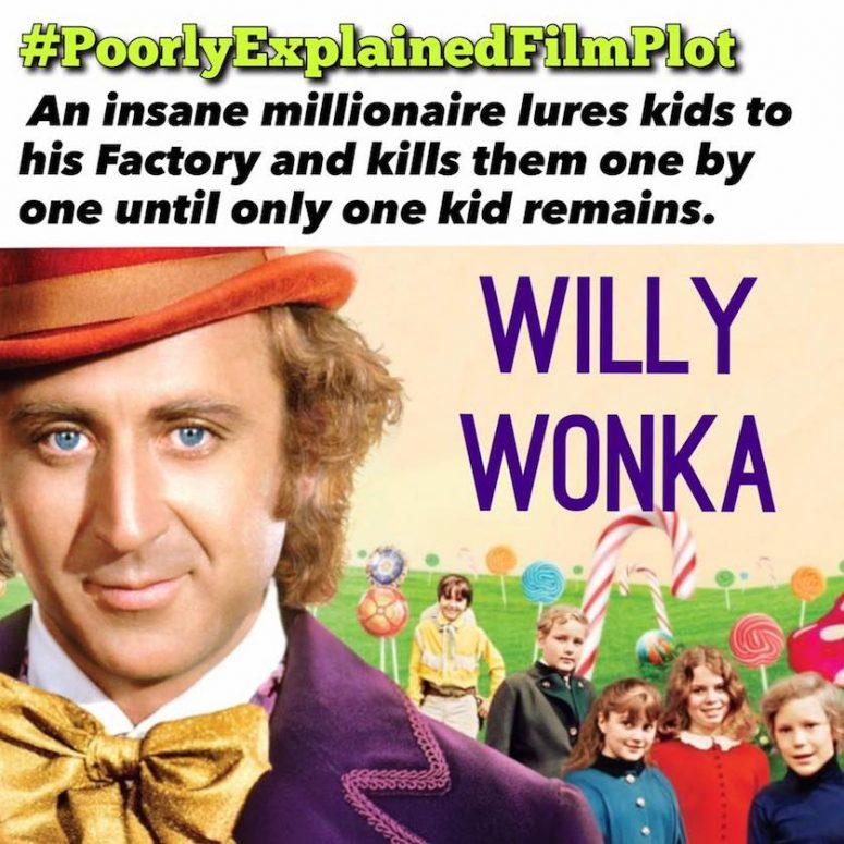 PoorlyExplainedFilmPlot - Willy Wonka