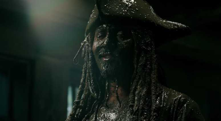 Jack Sparrow - Johnny Depp - Pirates of the Caribbean 5
