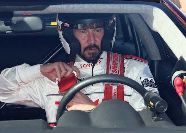 Keanu Reeves Plays A NASCAR Driver With A Big Ego In 'Rally Car'