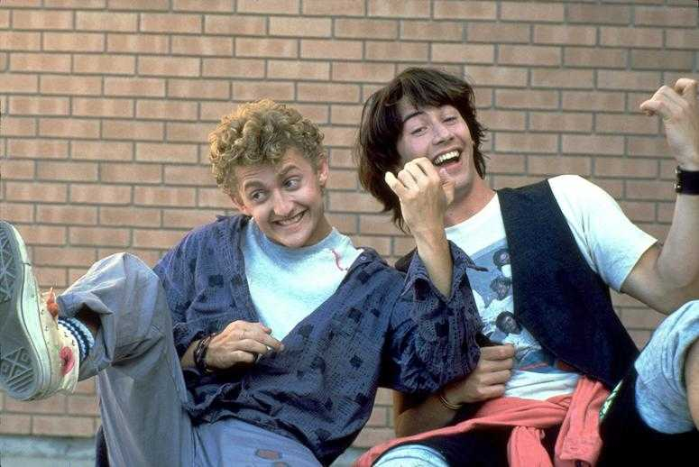bill-and-ted-s-excellent-adventure bill & Ted 3 - keanu Reeves