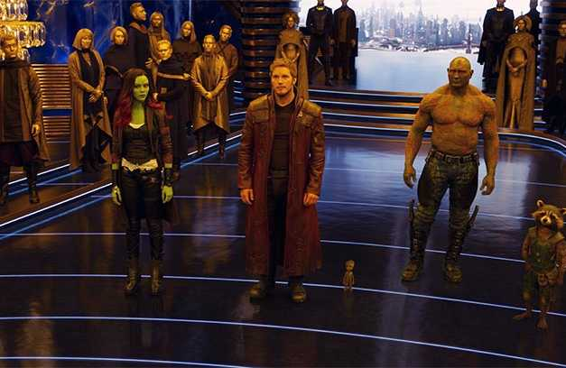 'Guardians Of The Galaxy Vol. 2' Trailer Premieres On Kimmel With A Bang